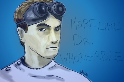 Dr. Horrible's Sing-A-Long Blog Hintergrund called Dr. Horrible