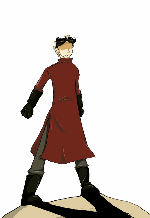Dr. Horrible in Red