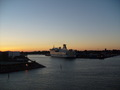 Ferry into Trelleborg Sweden - travel wallpaper