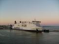 Ferry into Trelleborg Sweden