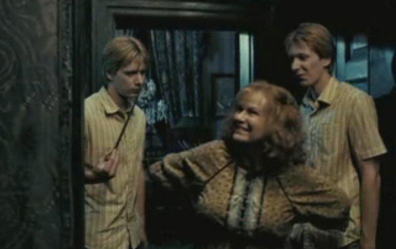 Fred, Mrs Weasley & George (Order Of The Phoenix)