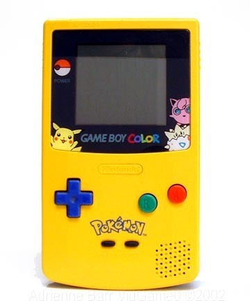 pokemon pictures to color. Gameboy Color - Pokemon