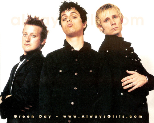 Green Day wallpaper probably with a green beret, fatigues, and battle dress called Green Day