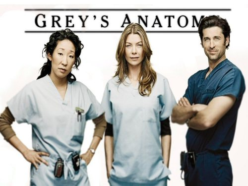 Grey's Anatomy wallpaper possibly with an outerwear, a well dressed person, and a box coat titled Grey's Anatomy