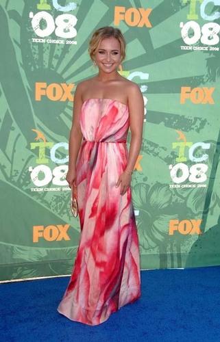 Hayden at the Teen Choice Awards