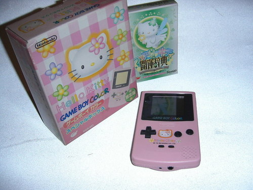 Hello Kitty Gameboy