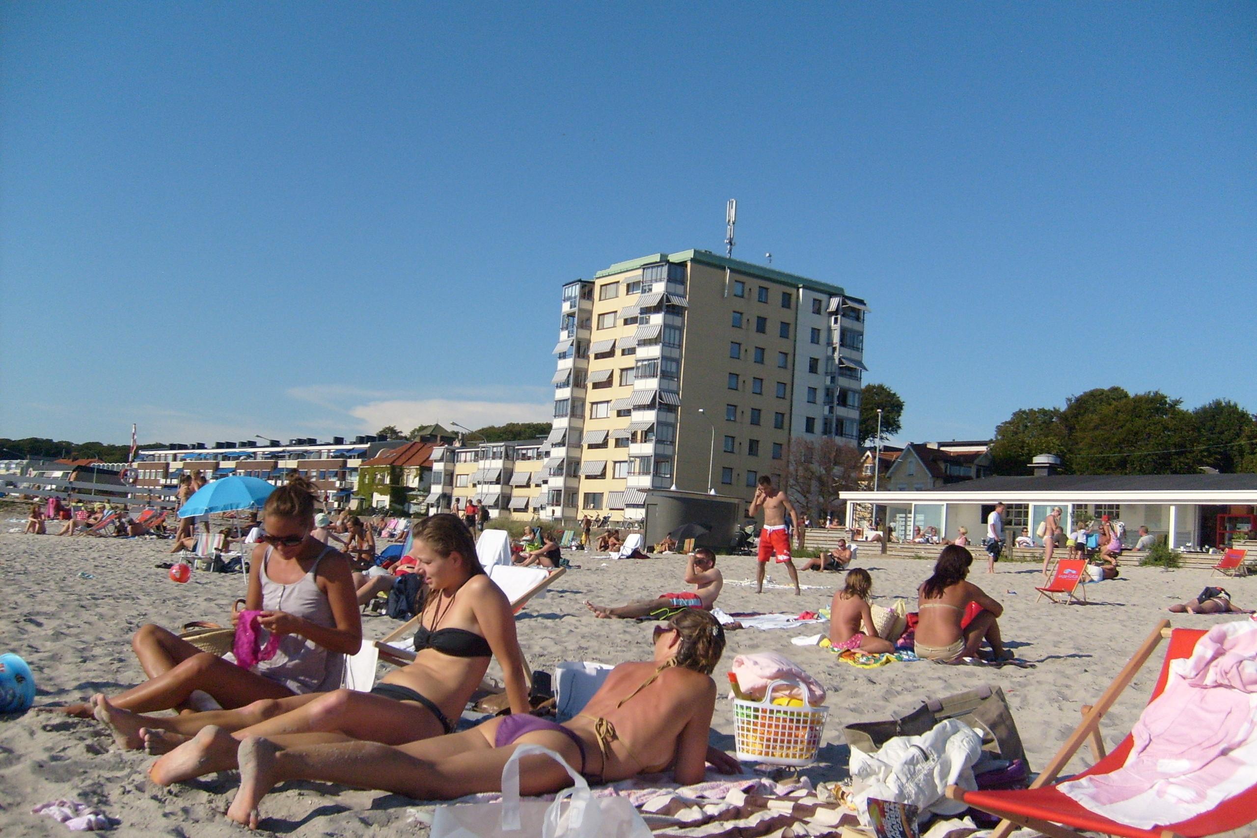 sweden beach