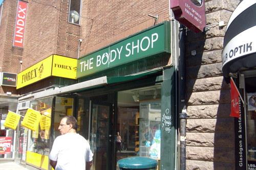 the body shop sweden