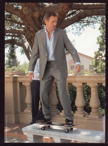 House and his skate