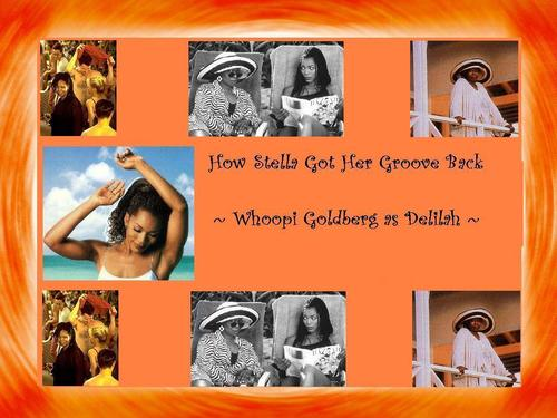 Whoopi Goldberg wallpaper possibly containing anime entitled How Stella got her groove back