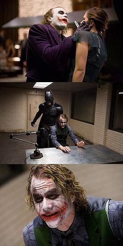 Joker kicks پچھواڑے, گدا