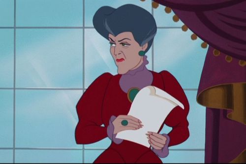 les méchants de Disney fond d'écran possibly with animé entitled Lady Tremaine