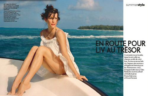 Liv Tyler - ELLE French, July 2008