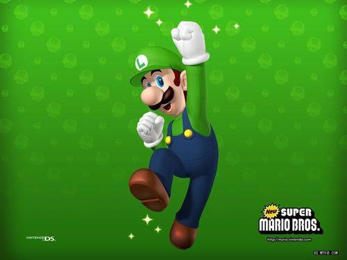 Super Mario Bros. wallpaper called Luigi Wallpaper