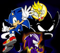 Many Forms of Sonic - darkspine-sonic fan art