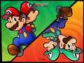 super-mario-bros - Mario & Luigi wallpaper