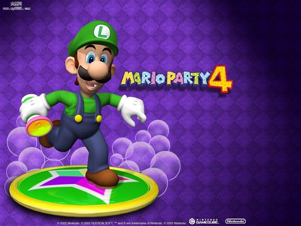 Mario Party - Luigi