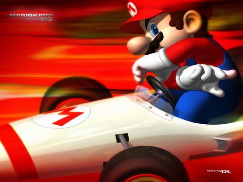 Mario Kart 바탕화면 called Mario
