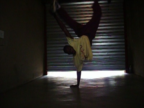 Me - breakdancing Photo