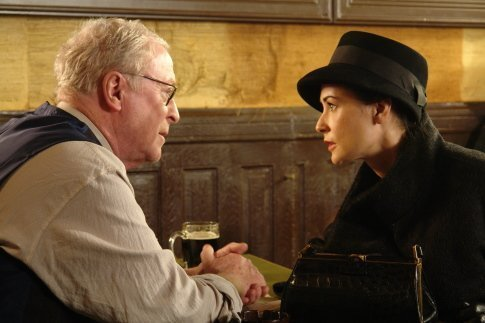 Michael Caine and Demi Moore