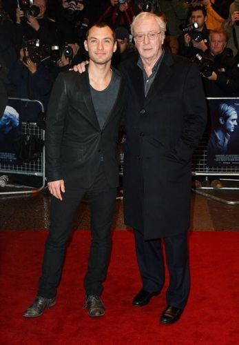 Michael Caine and Jude Law