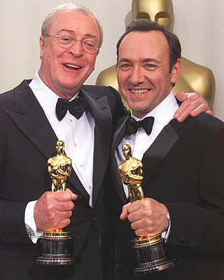Michael Caine and Kevin Spacey