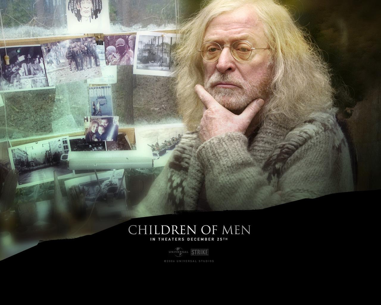 Children Of Men Wallpaper: Michael Caine In Children Of Men
