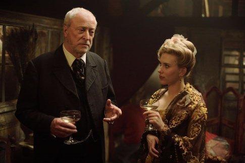 Michael Caine in The Prestige