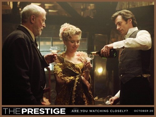 Michael Caine in The Prestige
