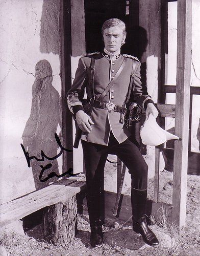 Michael Caine in Zulu