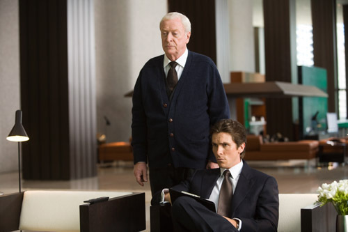 Michael Caine in the Dark Knight