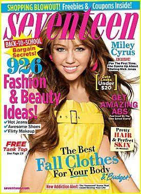 Miley In Seventeen