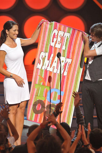 Minka presenting at the TCA's