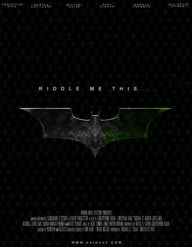 más Possible batman 3 Posters