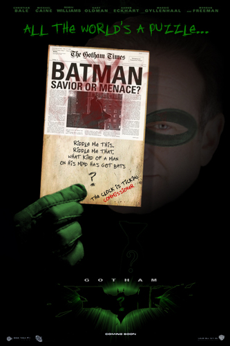 More Possible BATMAN 3 Posters - batman Fan Art