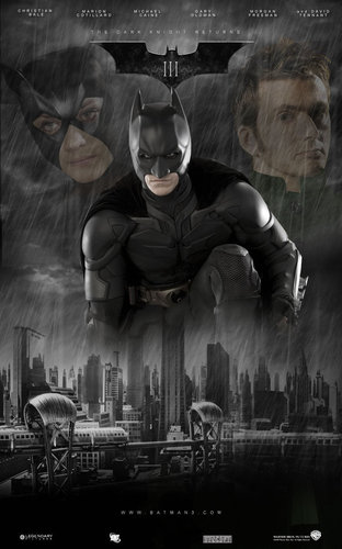 plus Possible Batman 3 Posters