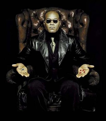 Morpheus Red ou Blue Pill