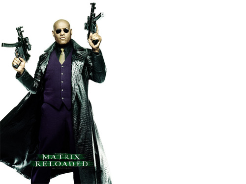 The Matrix wallpaper probably containing a well dressed person and a hip boot entitled Morpheus