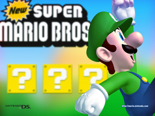 New Super Mario - Luigi
