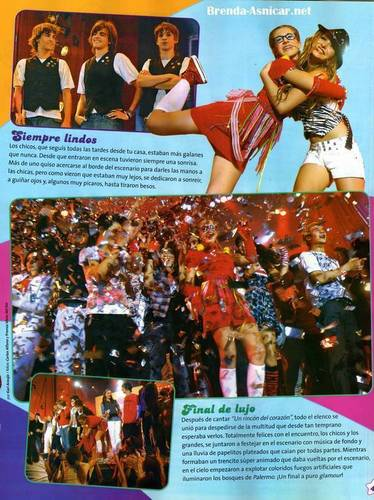 Old Patito Feo magazine with Brenda