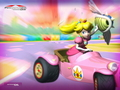 Princess Peach - mario-kart wallpaper