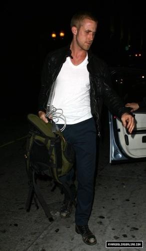 Ryan Leaving the Green Door