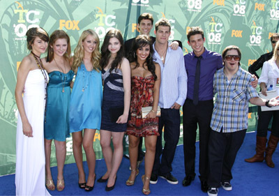 The Secret Life of The American Teenager kertas dinding probably with a well dressed person and long trousers entitled TCA 2008