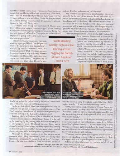 TV Guide Spread - mad-men Photo