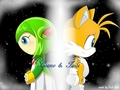Tails and Cosmo - tails-and-cosmo wallpaper