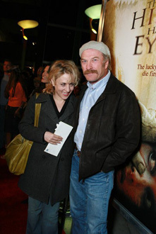 Ted Levine and Bitty Shram dating at the Hills Have Eyes Premiere
