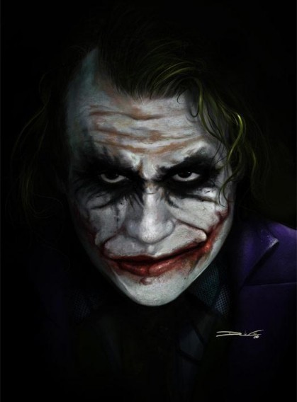 Airbrush Joker Wallpaper: The Dark Knight Fan Art (1959158)