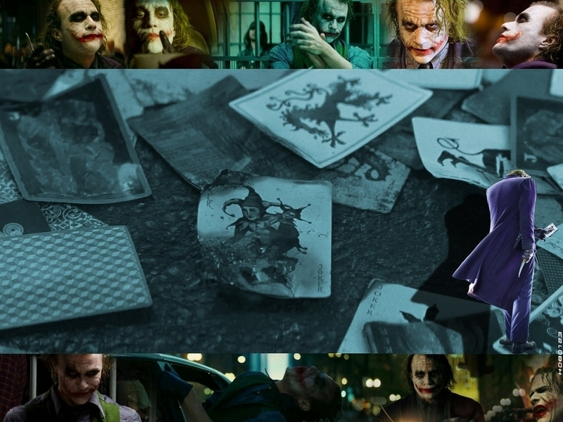 dark knight joker wallpaper. The Joker - The Dark Knight