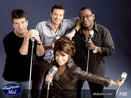 The Judges &amp; Ryan - american-idol Wallpaper