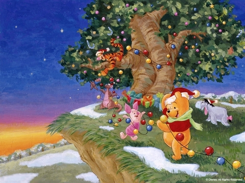 Winnie the Pooh wolpeyper possibly containing a bouquet entitled Winnie-the-Pooh pasko